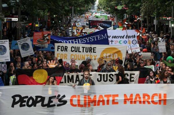 Στους δρόμους για την κλιματική δικαιοσύνη