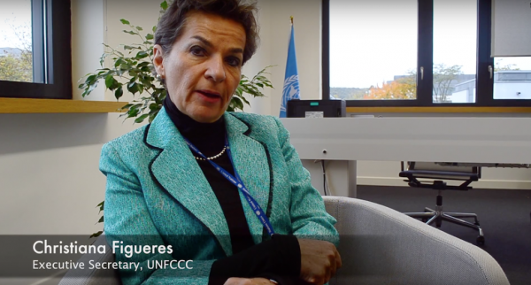 Figueres calls for a Fossil Fuels Divorce